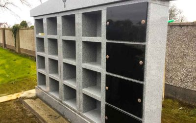 Installation of Columbarium Wall in Sligo