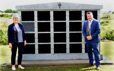 Installation of Columbarium Wall for Wexford County Council